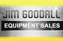 Jim Goodall Equipment